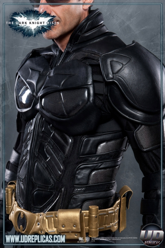 ... The Dark Knight Rises™ - BATMAN™ Leather Motorcycle Suit Image ... & The Dark Knight Rises™ - BATMAN™ Leather Motorcycle Suit