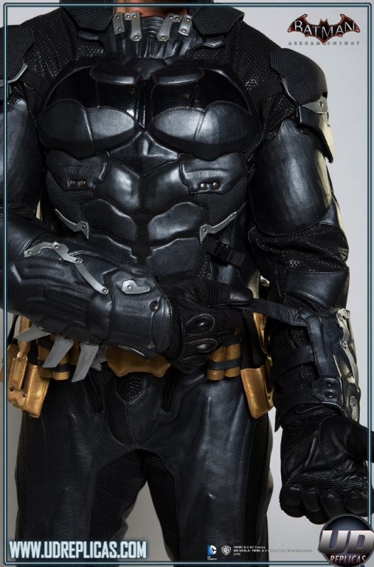 batman� arkham knight leather motorcycle suit