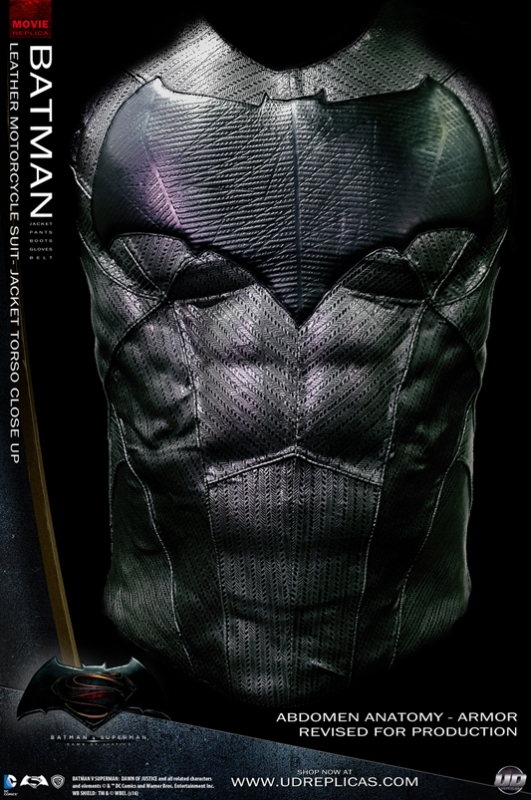 Batman Dawn Of Justice Leather Motorcycle Suit
