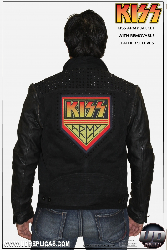 Home   KISS   KISS  ARMY Jacket: With Removable Sleeves