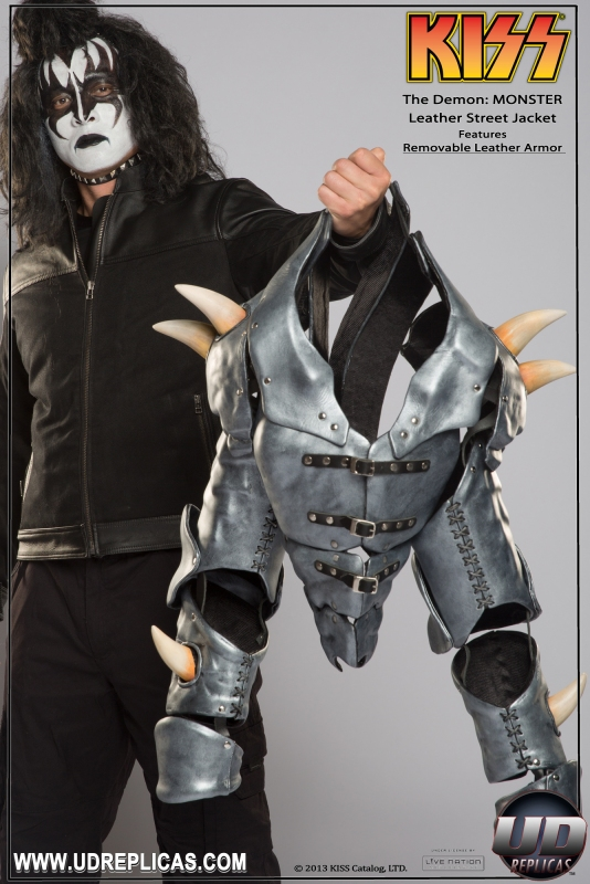 KISS The Demon MONSTER Leather Street Jacket - Live the dream