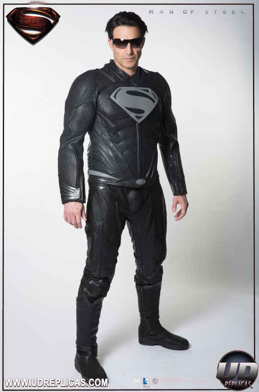 Black Man Of Steel Suit