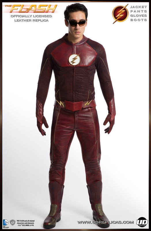 The FLASH - TV Show Leather Replica Suit.
