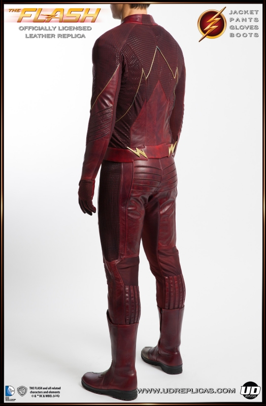 The Flash Tv Show Leather Replica Suit