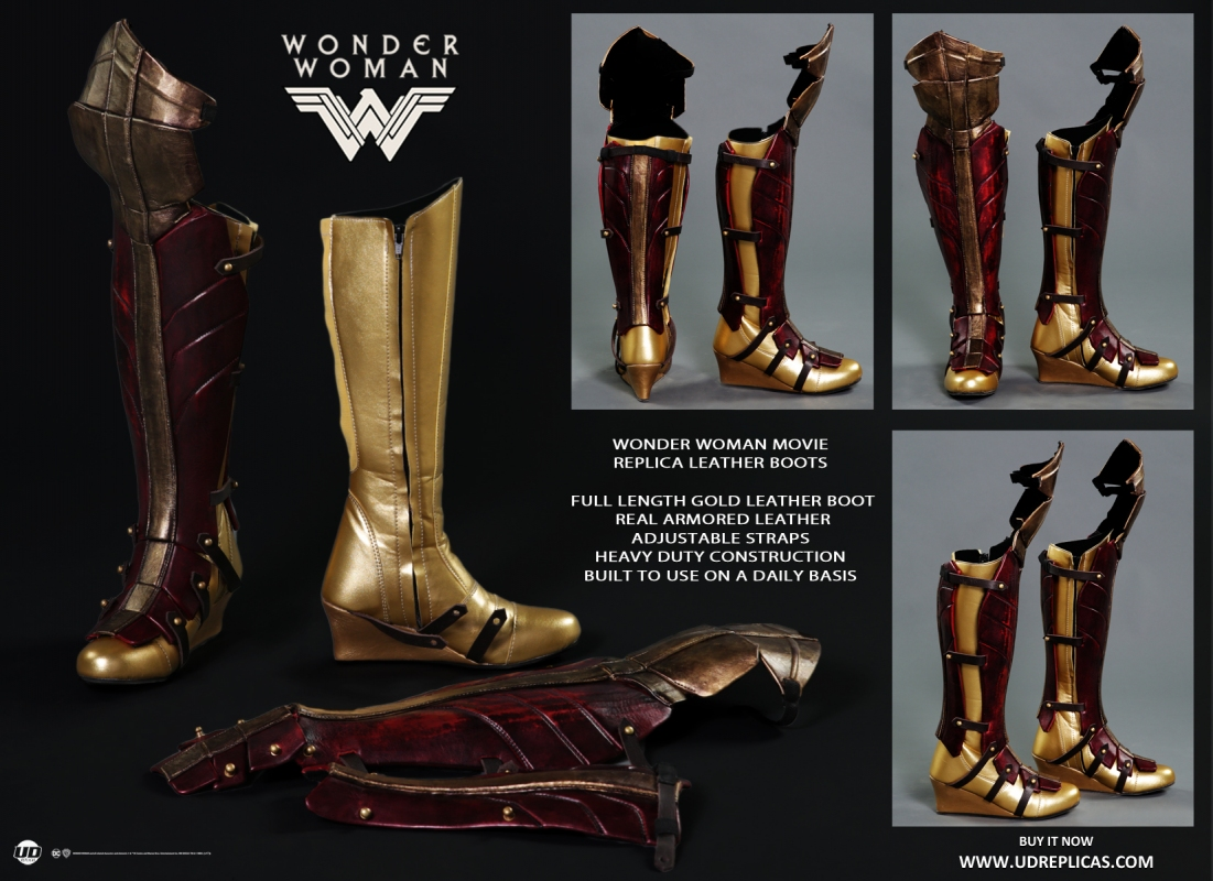 bcfb2715ba Wonder Woman - Official Leather Replica