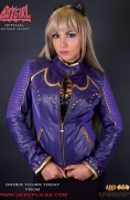 Batgirl - Official Leather Jacket Image 2