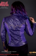 Batgirl - Official Leather Jacket Image 5