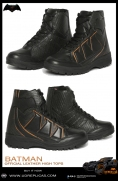 BATMAN - Official Leather High Tops Image 2