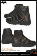 BATMAN - Official Leather High Tops Image 3