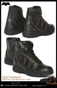 BATMAN - Official Leather High Tops Image 4