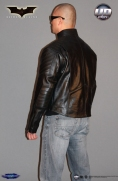 Batman Begins™ Leather Street Jacket Image 5