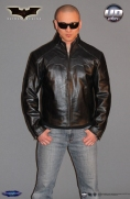 Batman Begins™ Leather Street Jacket Image 8