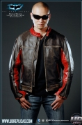 The Dark Knight™ - Bruce Wayne: Movie Replica Leather Street Jacket Image 4
