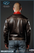 The Dark Knight™ - Bruce Wayne: Movie Replica Leather Street Jacket Image 5