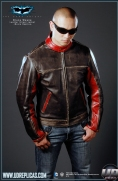 The Dark Knight™ - Bruce Wayne: Movie Replica Leather Street Jacket Image 2