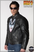 KISS™ The Demon - LUV GUN Leather Street Jacket Image 3