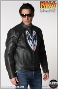 KISS™ The Demon - LUV GUN Leather Street Jacket Image 2