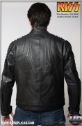 KISS™ The Demon - LUV GUN Leather Street Jacket Image 5