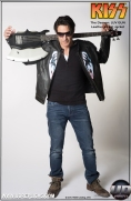 KISS™ The Demon - LUV GUN Leather Street Jacket Image 7