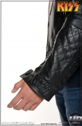 KISS™ The Demon - LUV GUN Leather Street Jacket Image 8