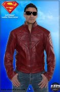 Superman™ Leather Street Jacket Image 2