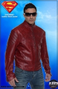 Superman™ Leather Street Jacket Image 4