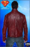 Superman™ Leather Street Jacket Image 8