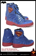 SUPERMAN - Official Leather High Tops Image 2