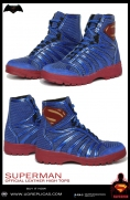 SUPERMAN - Official Leather High Tops Image 3