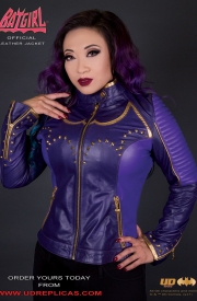 Batgirl - Official Leather Jacket