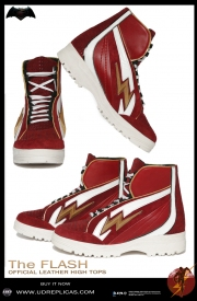 The Flash - Official Leather High Tops