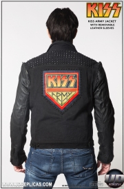 KISS™ ARMY Jacket: With Removable Sleeves