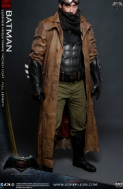 Batman DOJ Replica - Leather Knightmare Trench Coat
