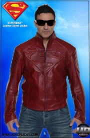 Superman™ Leather Street Jacket