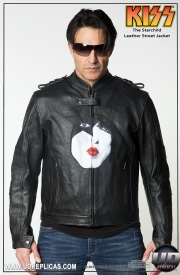 KISS™ STARCHILD - Leather Street Jacket