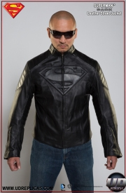 Superman™ DARK Leather Street Jacket