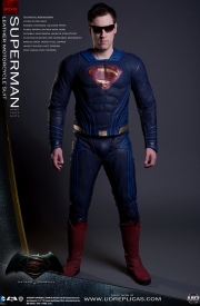SUPERMAN™ Dawn of Justice - Leather Motorcycle Suit