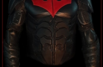 Batman Beyond Armoured Leather Jacket