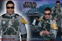 STAR WARS - BOBA FETT: Leather Street Jacket