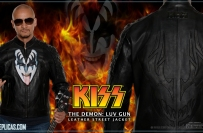 KISS Leather Outerwear - The Demon: LUV GUN