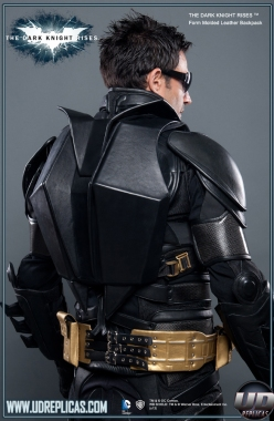 The Dark Knight Rises™ - Batman Leather Motorcycle Back Pack Image 1