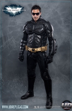The Dark Knight Rises™ - BATMAN™ Leather Motorcycle Suit  Image 1