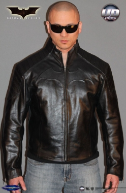 Batman Begins™ Leather Street Jacket Image 1