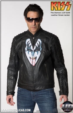 KISS™ The Demon - LUV GUN Leather Street Jacket Image 1