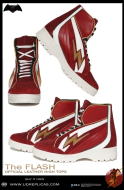 The Flash - Official Leather High Tops  Image 1