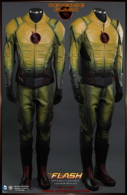REVERSE FLASH - Official Leather Replica Image 1