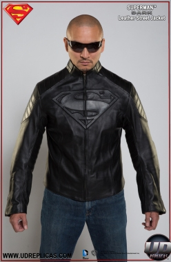 Superman™ DARK Leather Street Jacket  Image 1