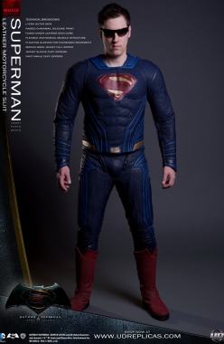 SUPERMAN™ Dawn of Justice - Leather Motorcycle Suit Image 1