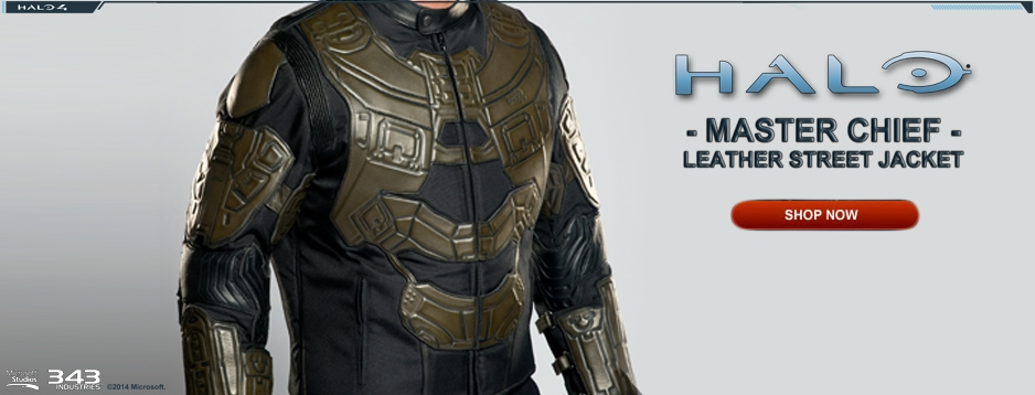 HALO: Master Chief Leather Street Jacket