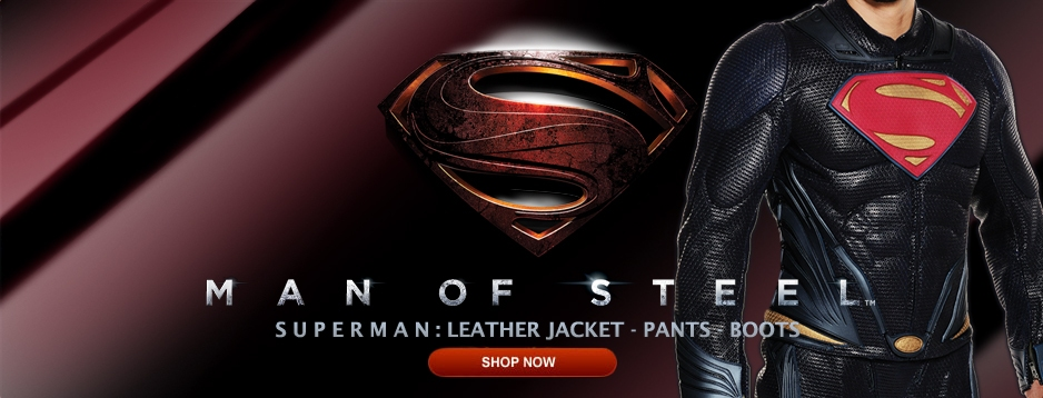 Man of Steel: Superman™ - Leather Outerwear